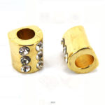 Colchetes Ouro/Ligth,Strass Cr