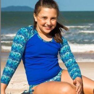 Blusa Com Proteção UV Infantil Lycra