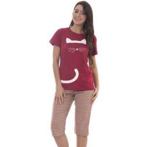 Pijama Capri Algodão Feminino