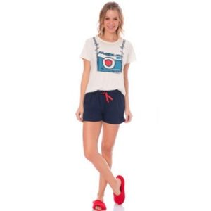 Short Doll M/C Algodão Feminino