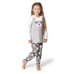 Pijama Manga Longa Moleton Infantil