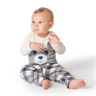 Meu 1º Pijama Moleton Infantil