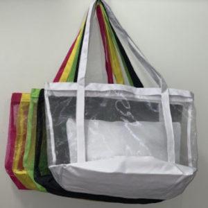 Bolsa de Praia Com Ziper Telinha