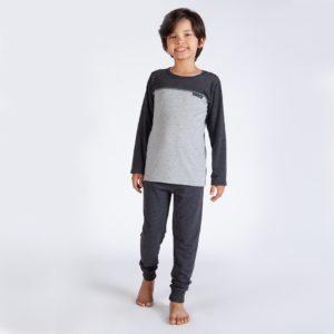 Pijama Manga Longa Infantil Ma PV
