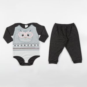 Pijama Manga Longa Infantil Fe PV