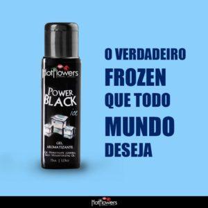 Gel Aromatizante Sabor/Aroma Power Black Ice