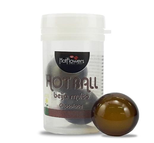 Hot Ball Beija Muito Duplo Sabor/Aroma Chocolate