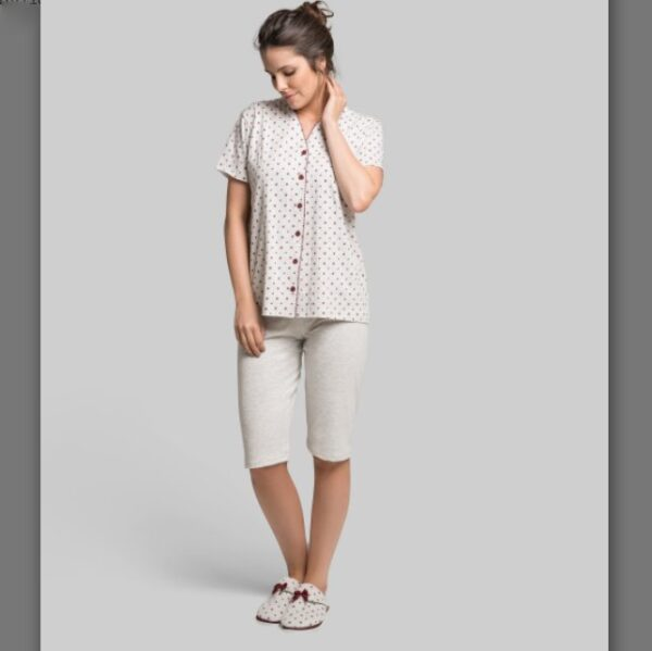 Pijama M/C Capri PA Feminino