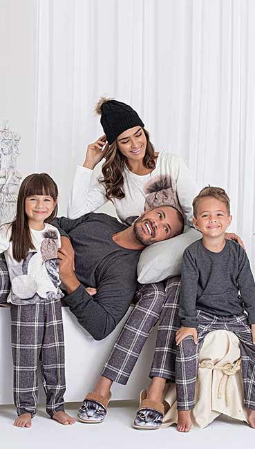 pijama-família-gato-xadrez